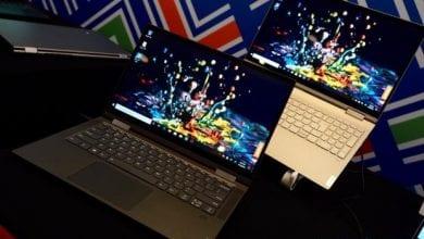 صورة Lenovo تكشف عن حواسب Yoga الجديدة مع معالجات من الجيل العاشر
