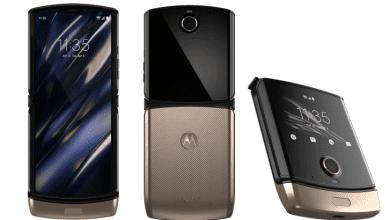 Photo of Motorola Razr 2019 يظهر في صور جديدة باللون الذهبي