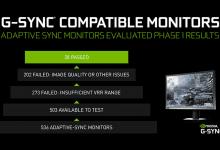 Photo of NVIDIA تعلن عن توافق عدد 16 شاشة مخصصة للألعاب مع تقنية G-Sync