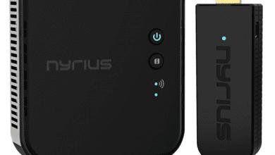 صورة Nyrius تطلق ARIES Pro بلس اللاسلكي لبث وإستقبال إشارات الفيديو بدقة 1080 بيكسل