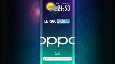 صورة Oppo ترغب في إطلاق هاتف بشاشة ملتفة من جميع الجوانب