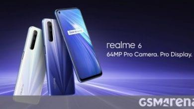 صورة Realme 6 متاح الآن للشراء