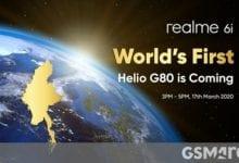 صورة Realme 6 و 6 Pro تهبط في أوروبا في 24 مارس ، يتم الإعلان عن Realme 6i في 17 مارس