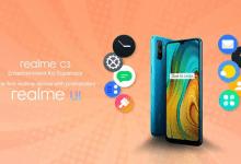Photo of Realme C3 أول هاتف ينطلق قريباً بواجهة Realme UI التي ترتكز على نظام Android 10