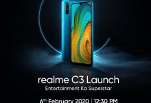 صورة Realme تعلن عن موعد مؤتمر Realme C3 في 6 من فبراير