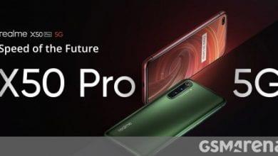 صورة Realme X50 Pro 5G يهبط في الصين