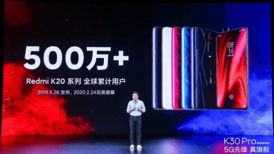 صورة مبيعات سلسلة هواتف Redmi K20 تتخطى 5 مليون وحدة