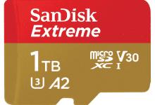 صورة SanDisk تكشف عن بطاقة UHS-I سعة 1 تيرابايت في مؤتمر   #MWC2019