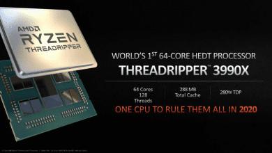 صورة Threadripper 3990X أول معالج من AMD ب64 من الأنوية لأجهزة الحاسب المكتبي