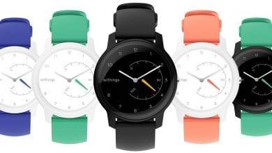 صورة Withings تعود من جديد مع ساعة Move الذكية بتكلفة 70$ #CES2019