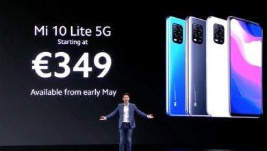 صورة Xiaomi Mi 10 Lite يأخذ تاج 5G بأسعار معقولة
