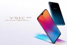صورة هاتف vivo Y91C للعام 2020 يضم معالج Helio P22 وبطارية بقدرة 4030 mAh