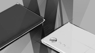 صورة إعلان تشويقي من LG يكشف عن تصميم هاتفها القادم بزوايا منحنية