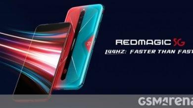 صورة النوبة Red Magic 5G متاحة الآن على مستوى العالم