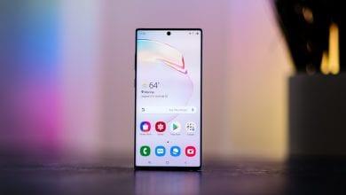 صورة الهاتف Galaxy Note 10 Lite يحصل بدوره على تحديث Samsung One UI 2.1