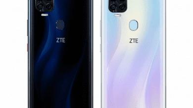 صورة تسريبات مصورة تكشف عن تصميم ومواصفات هاتف ZTE BLADE V 2020