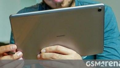 صورة تسريب نسخة Huawei MatePad 5G ، يظهر MatePad M6 Lite على GeekBench