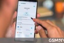 صورة تعمل Samsung على One UI 2.1 لـ Galaxy Note9