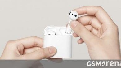 صورة تكشف شركة Xiaomi النقاب عن سماعات أذن Mi Air 2S TWS مع عمر بطارية 24 ساعة ، ودعم برنامج ترميز LHDC