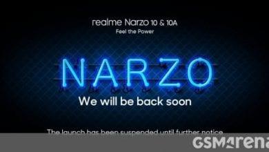 صورة تم تأجيل إطلاق سلسلة Realme Narzo 10 في 21 أبريل