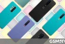 صورة تُظهر حالات OnePlus 8 و 8 Pro ألوانًا جديدة لإنهاء الحجر الرملي
