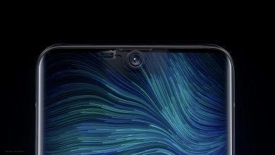 صورة Visionox تُنهي عملية تطوير التكنولوجيا التي من شأنها تضمين الكاميرات الأمامية أسفل الشاشة
