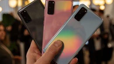 صورة كيفية التقاط لقطة شاشة على Samsung Galaxy S20 ، بما في ذلك التحديد الذكي والالتقاط الذكي
