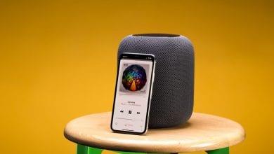 صورة مكبر الصوت الذكي Apple HomePod أصبح يعمل الآن بنظام TvOS