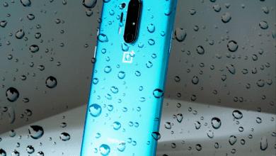 صورة هواتف OnePlus 8 هي أول إصدارات وان بلس بمعايير IP68 لمقاومة الماء