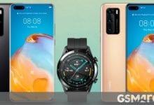صورة يتوفر Huawei P40 و P40 Pro الآن في أوروبا ، ويأتيان مع Watch GT 2 أو 2e مجانًا