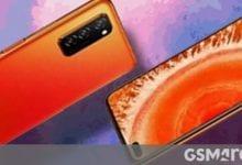 صورة يظهر الإعلان المسرب أن هواتف Huawei nova 7 ستحتوي على شاشات منحنية بثقوب مزدوجة
