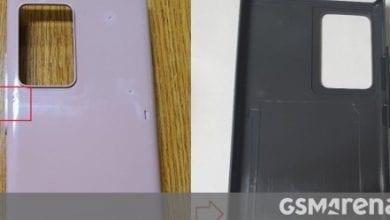 صورة يعطينا قالب حالة Samsung Galaxy Note 20 المتسرب فكرة عما يمكن توقعه