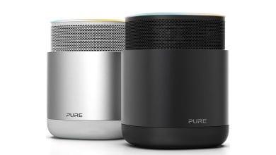 صورة مكبر الصوت Pure DiscovR يأتي بالمساعد أليسكا مع إمكانية إيقافه عن الإستماع