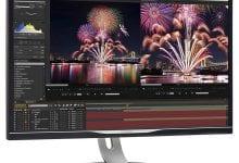 صورة شاشة Brilliance 4K من Philips توفر ميزات تتضمن شبكة جيجابت