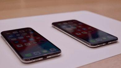 صورة هاتفي آيفون Xs وآيفون Xs Max يأتيان بشاشات أفضل وأكبر