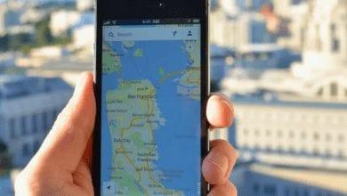 صورة تطبيق خرائط جوجل يتيح للمستخدمين مراسلة الشركات التجارية