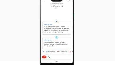 صورة مساعد جوجل الإفتراضي يدعم فحص المكالمات على Pixel 3
