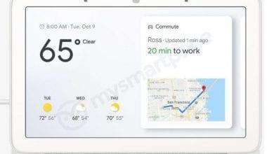 صورة جوجل قد تطلق جهاز Home Hub لتتنافس مع Echo Show