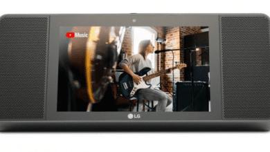 صورة LG تعلن عن شاشة WK9 الذكية بحجم 8 إنش مع مساعد جوجل الإفتراضي
