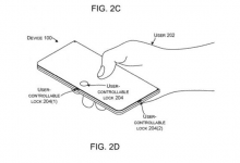 صورة مايكروسوفت تسجل براءة إختراع جديدة لجهاز قابل للطي