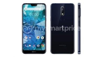 صورة تسريبات عن هاتف Nokia 7.1 Plus تكشف عن وجود نتوء وكاميرا خلفية مزدوجة