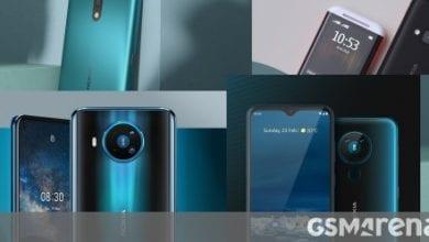 صورة Nokia 8.3 5G و 5.3 و 1.3 متاحة الآن للطلب المسبق في المملكة المتحدة