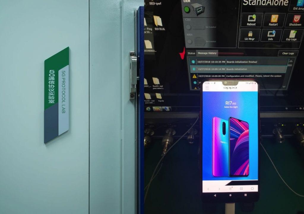 OPPO-R15-based-5G-smartphone