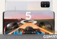صورة Samsung Galaxy A51 5G و A71 5G الموصوفين بإيجاز في الرسوم البيانية ، ينضم إليهما A41