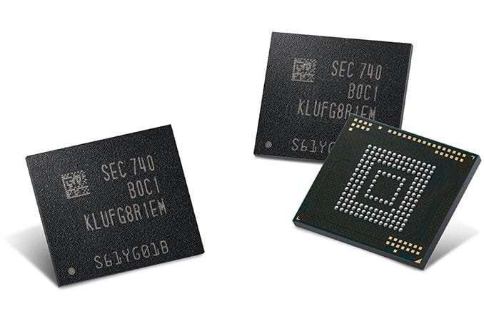 Samsung UFS 3.0 storage