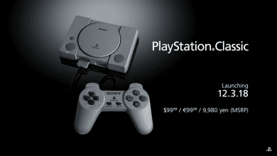 صورة سوني تطلق PlayStation Classic في ديسمبر بسعر 100 دولار