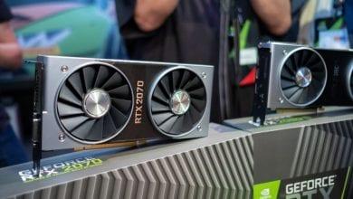 صورة وصول بطاقة رسومات GeForce RTX 2070 من نيفيديا في 17 أكتوبر