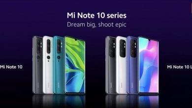 صورة Xiaomi تقرر إزاحة الستار رسميًا عن الهاتف Xiaomi Mi Note 10 Lite يوم غد الخميس