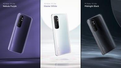 صورة Xiaomi تكشف النقاب رسميًا عن الهاتف Xiaomi Mi Note 10 Lite، ويُكلف إبتداءً من €349