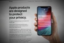 صورة أبل تعمل على إصلاح صفحات الخصوصية الخاصة بها وتسمح لعملاء الولايات المتحدة بتنزيل بياناتهم الخاصة